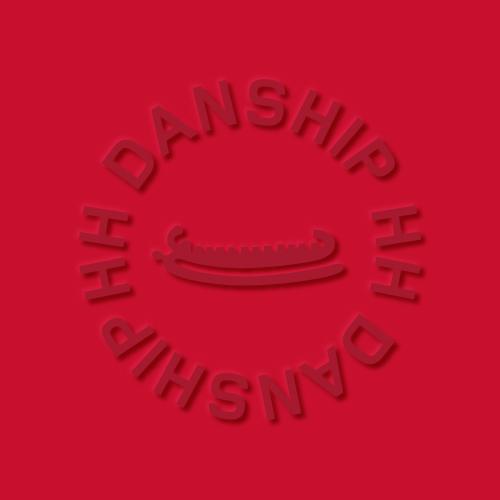 H.H. Danship AS logo on red