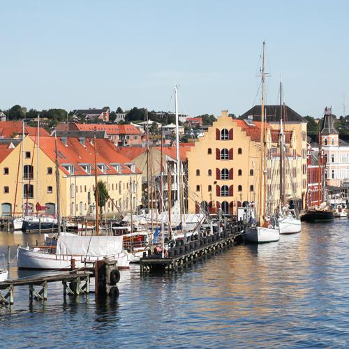 Overview of Svendborg Harbour